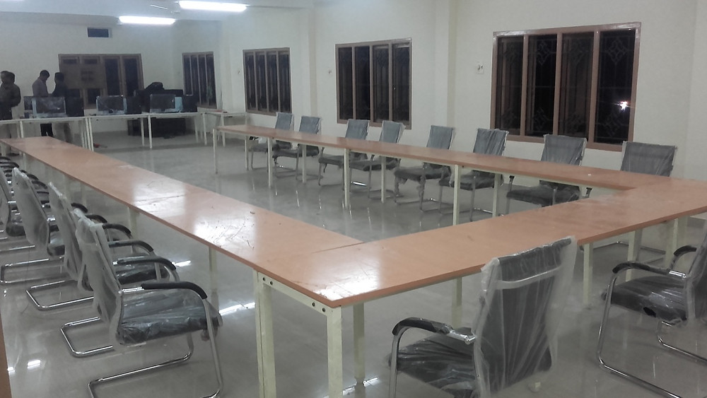 Conference table at Amravati