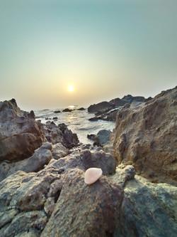 Rock between Sea