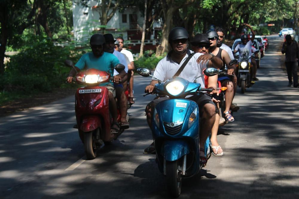 Innodesk team meet at Goa | The Endless Roads