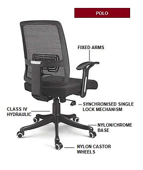 Polo Office Chair by Innodesk. Budget office chair