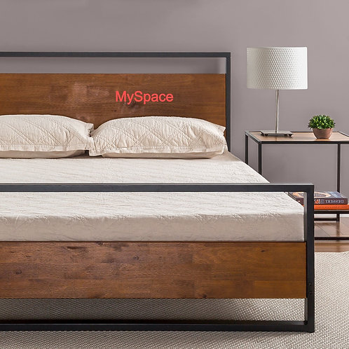 Open Design Bed King Size