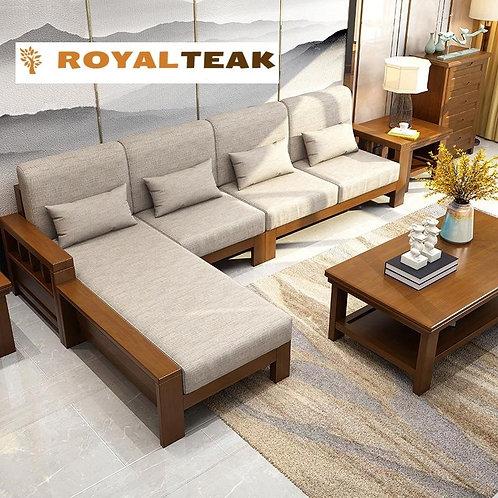 Teak Wood Sofa Sets Online India