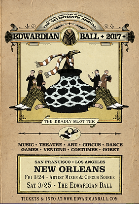 Edwardian Ball New Orleans 2017