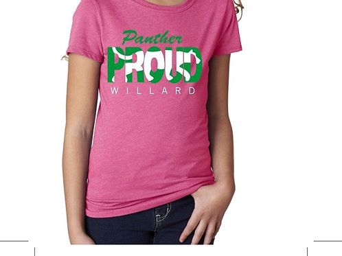 Panther Proud Short Sleeve Youth T-shirt