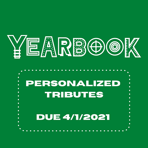 Yearbook Tribute 2020-2021