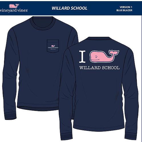 Willard Vineyard Vines Long Sleeve T-Shirts