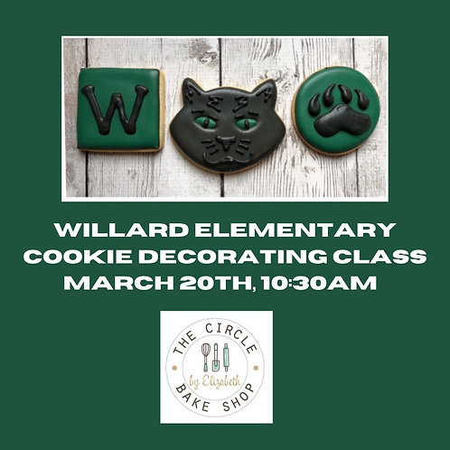 Virtual Cookie Decorating Class- 10:30am