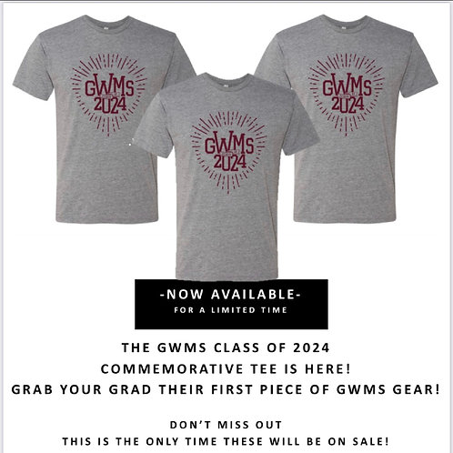 GWMS CLASS OF 2024 COMMEMORATIVE TEE