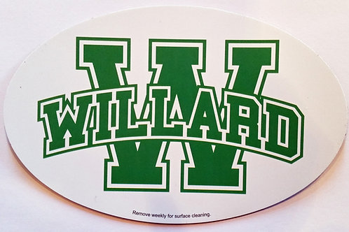 Car Magnet WILLARD Retro