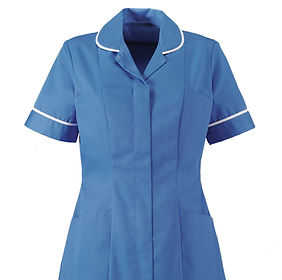 Embroidered and printed healthcare beauty wear tunics