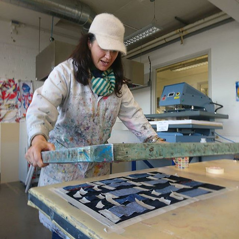 #screenprinting #textiles #backtobasics