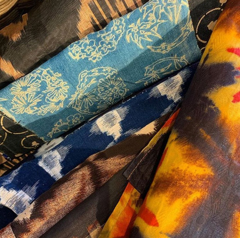 fabrics from every continent