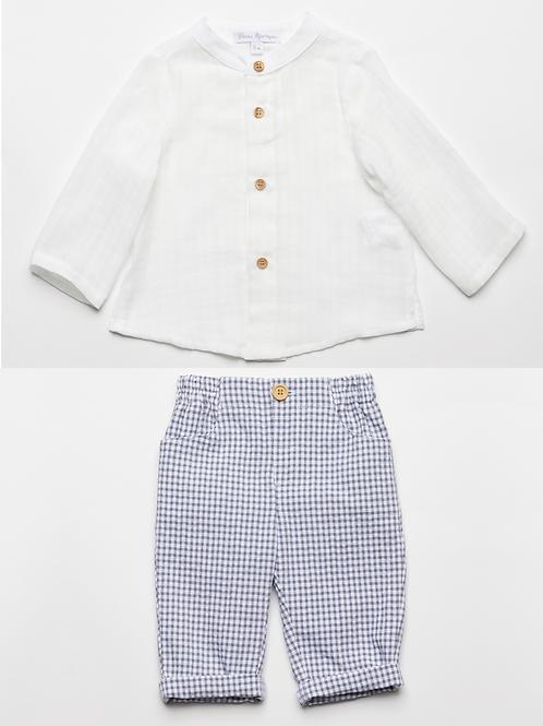 Camisa con Pantalón Vichy