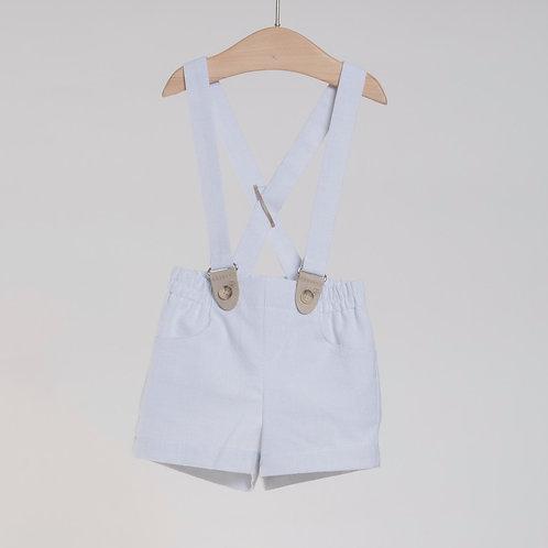 Bermuda de tirantes con camisa