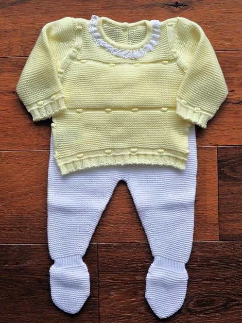Conjunto de Punto Bebé