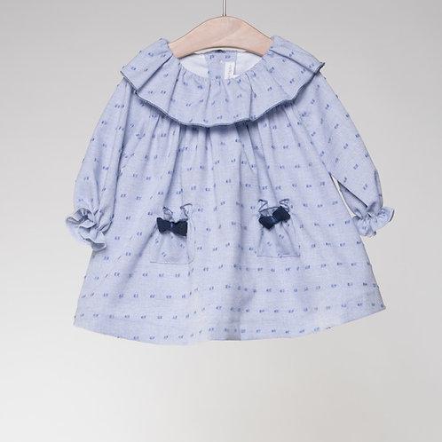Vestido Plumetti Azul