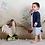Thumbnail: Conjunto de niño lino