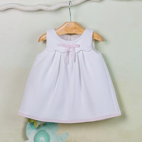 Vestido bebé Piqué