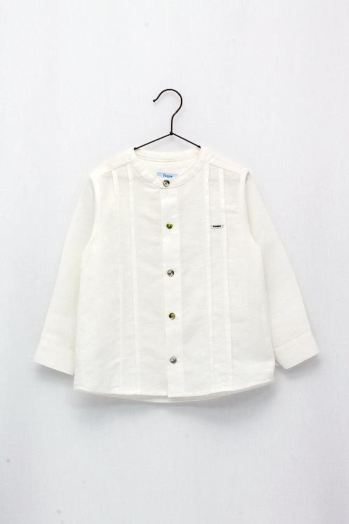Camisa Lino tipo Guayabera
