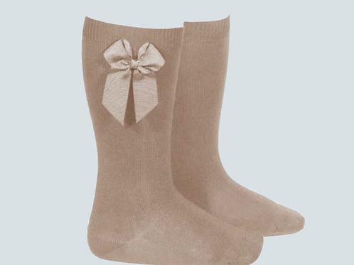 Calcetines con moño CONDOR
