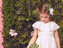 Vestidos de ceremonia. Vestidos para bautizo, fiesta, ceremonia, comunión, ocasiones especiales y confirmación para niñas y bebés.