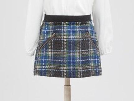 Mini-Falda de Cuadros Escoceses