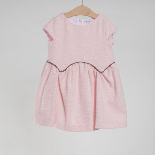 Vestido Rosa Glitter