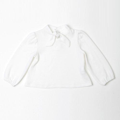 Blusa de Punto Lazo Cuello