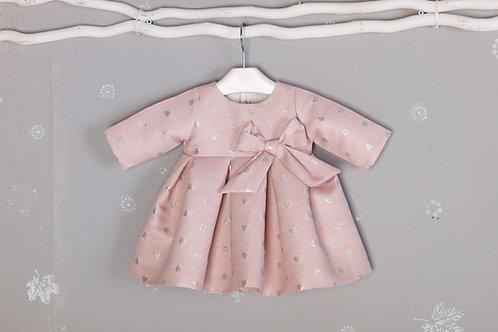 Vestido Corazones Rosa