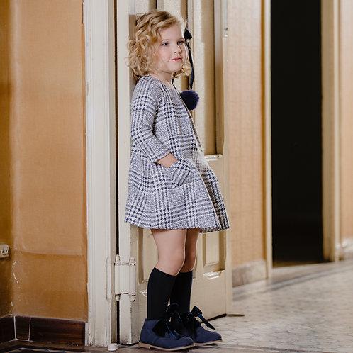 Vestido Cuadros Príncipe de Gales