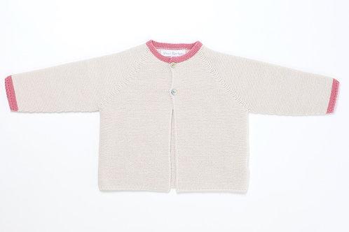 Suéter abierto Piedra
