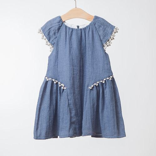 Vestido Fresco Azulón