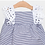 Thumbnail: Vestido Mil Rayas Marino