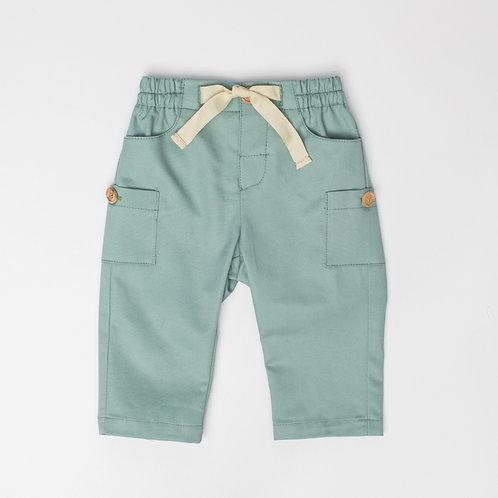 Pantalón Cargo Verde