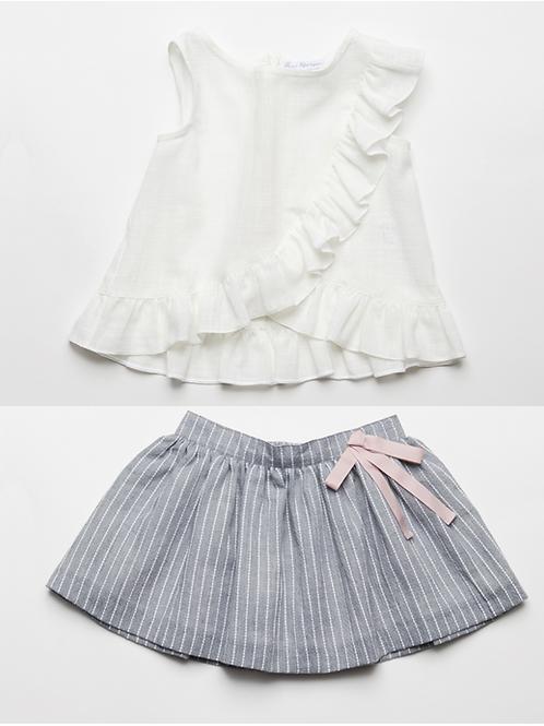 Falda con Blusa