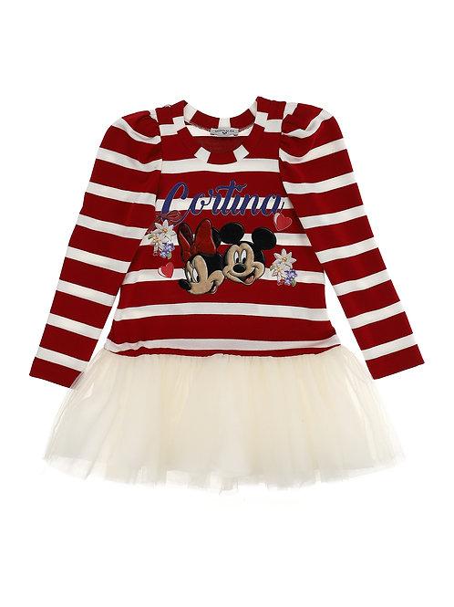 Vestido Rayas Disney MNLS