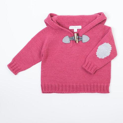 Suéter Capucha Fresa