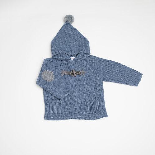 Suéter abierto con Capucha