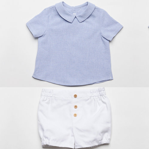 Conjunto Camisa y Bermuda