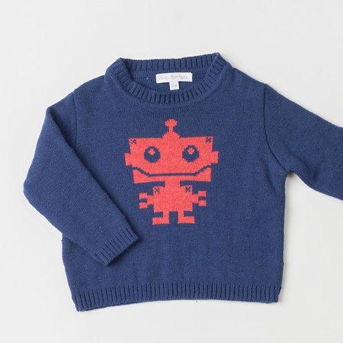 Suéter Robot F