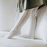 Mallas caladas y leotardos calados, tight crochet
