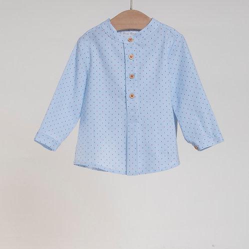 Camisa con Bermuda Coral