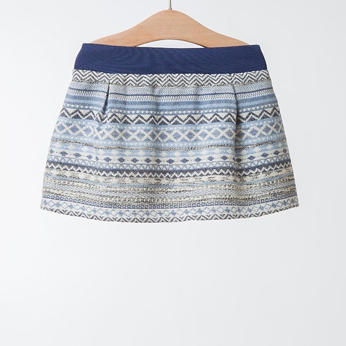 Mini Falda Estampado Étnico