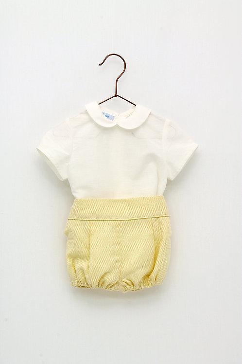 Conjunto Bebé Amarillo