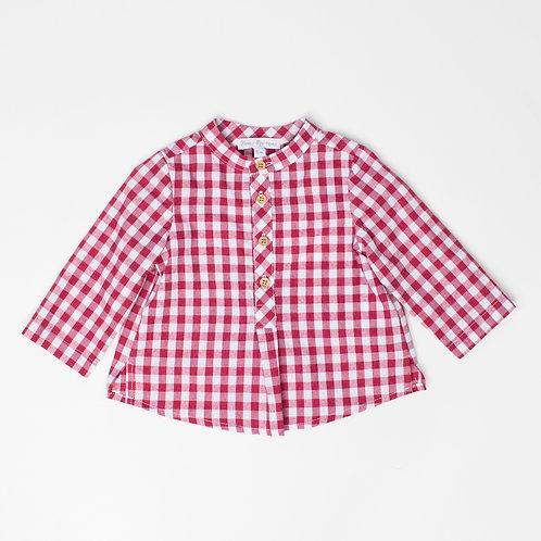 Camisa Vichy Cereza