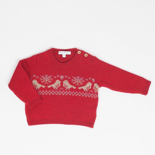 Suéter Pajaritos