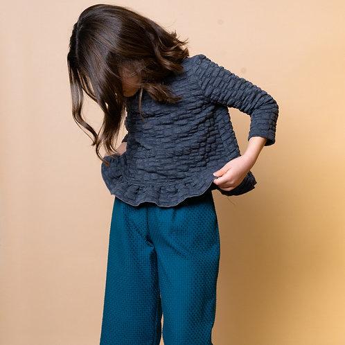 Conjunto sudadera y pantalón ancho