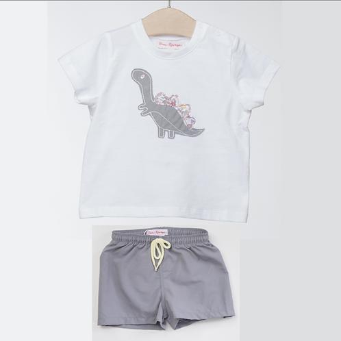 Camiseta con Bóxer
