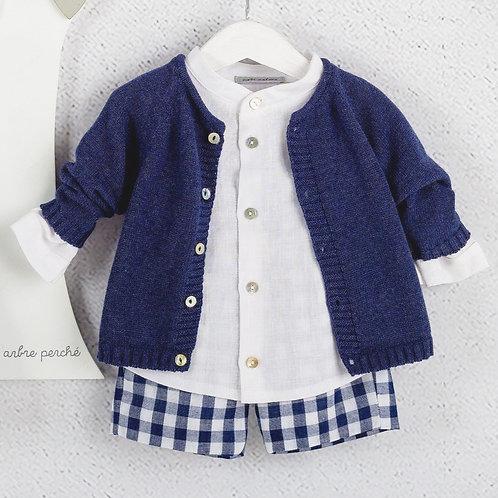 Copia de Conjunto Bermuda-Camisa-Suéter