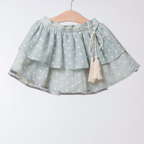 Falda verde seco